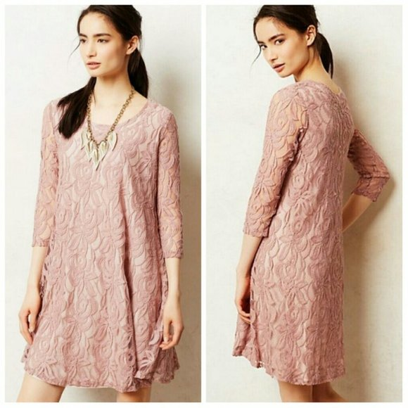 Anthropologie Dresses & Skirts - NWT Puella Amare Swing Lace Dress